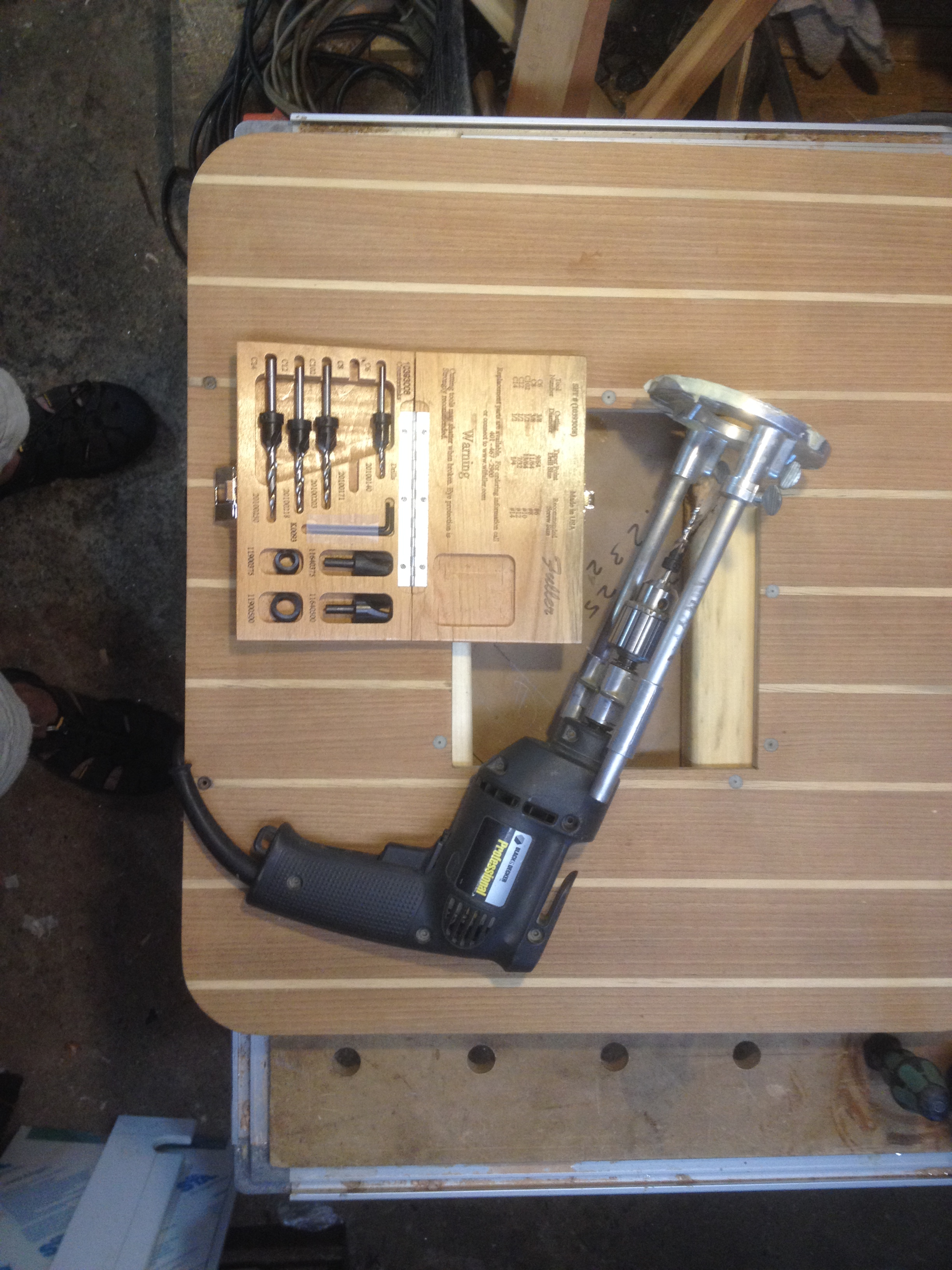 Portable drill press
