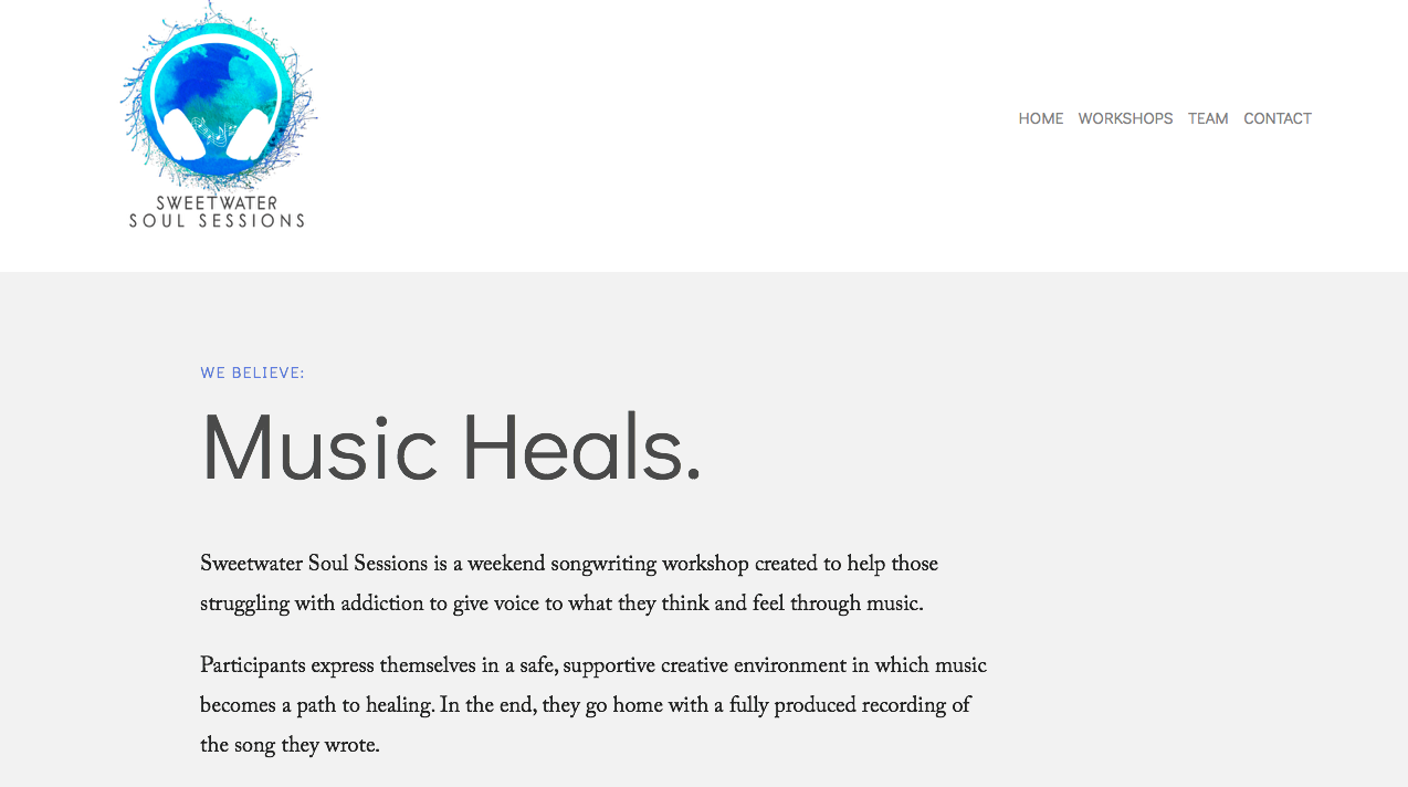 This is a preview of Alana's  Squarespace  website.