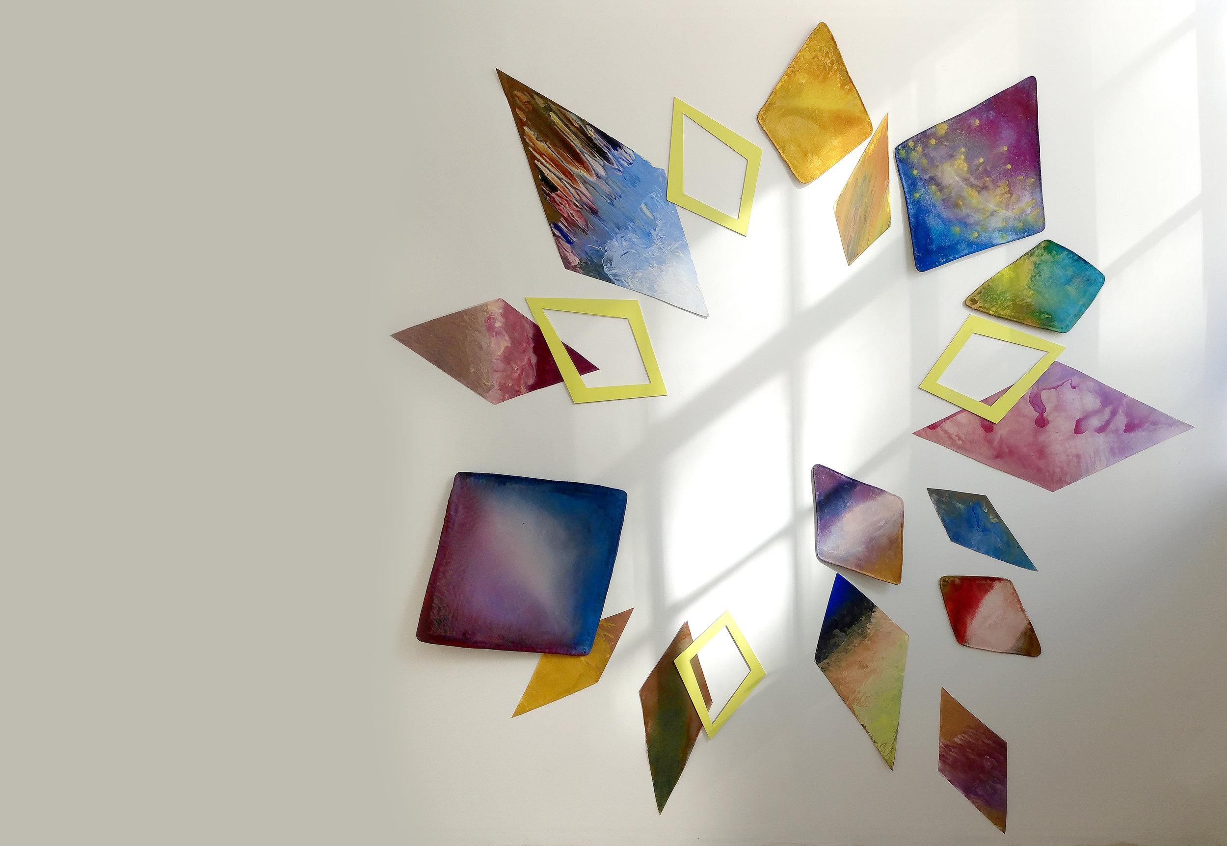 Starburst with Sun Star