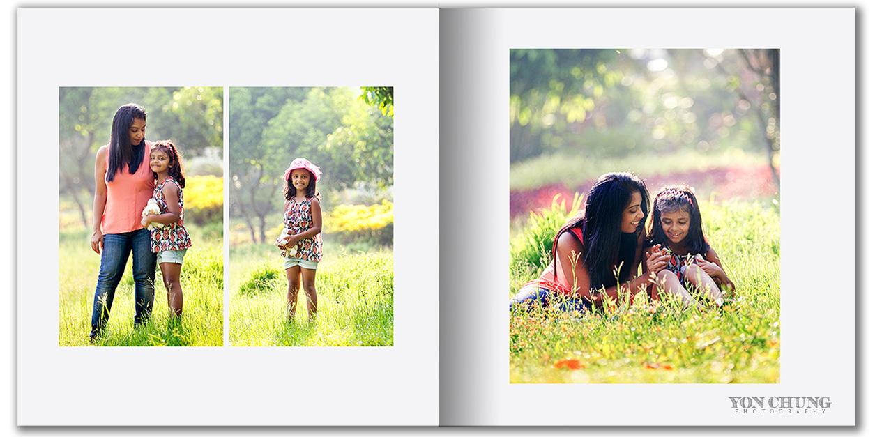 Mother - Daughter Album spread - McLean VA, Fairfax County, Northern Virginia Photographer
