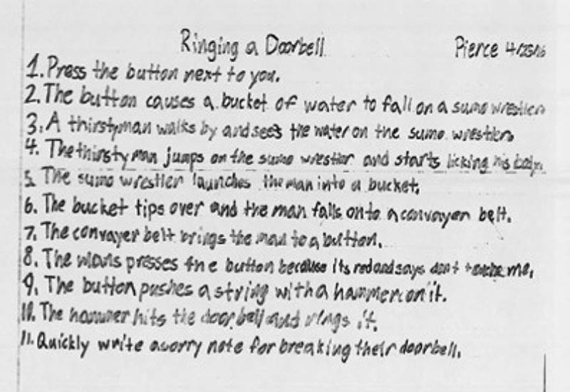Ringing a Doorbell by Pierce