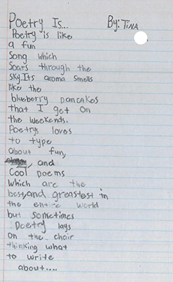 Poetry Is by Tina