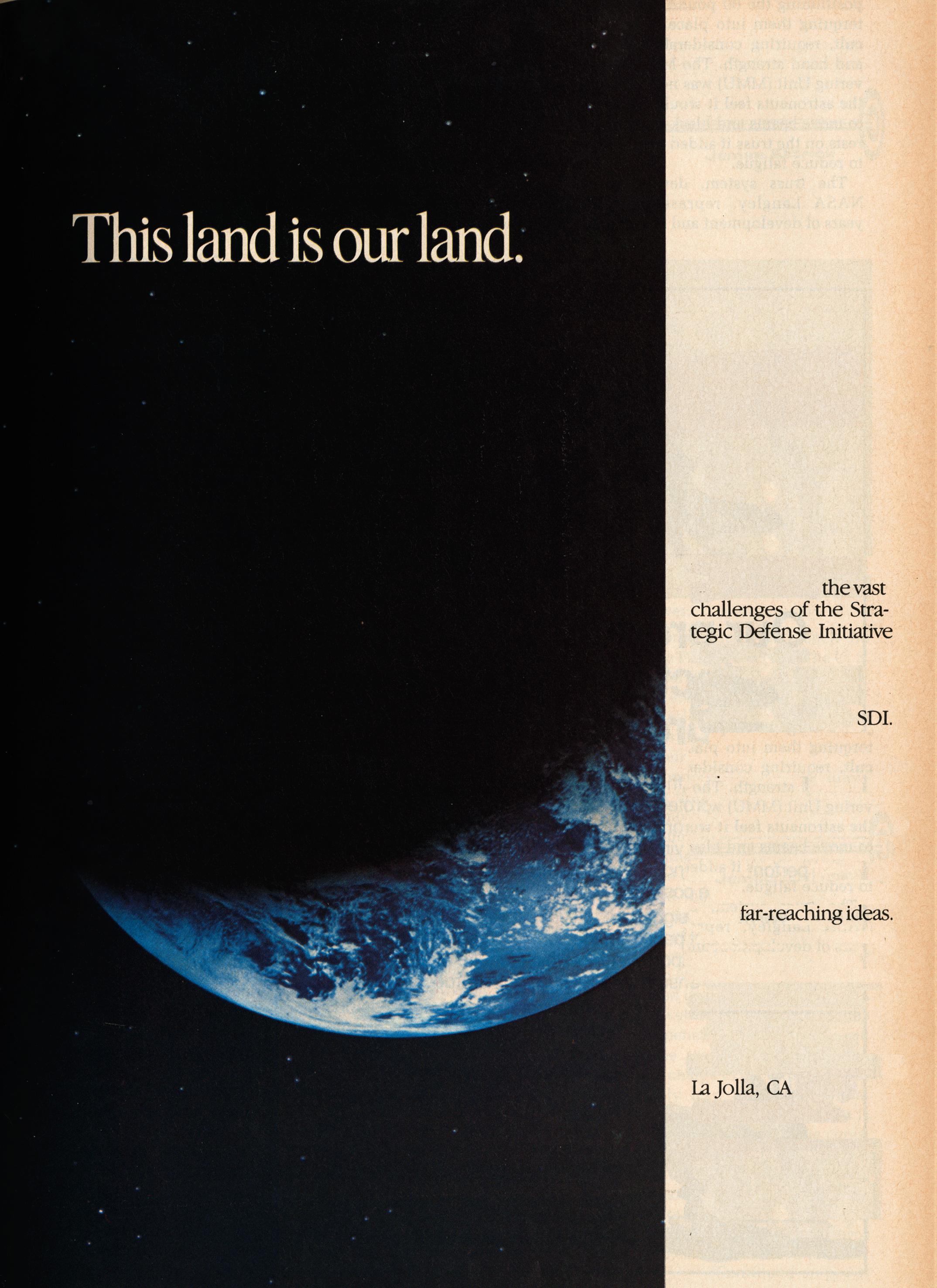 La Jolla, 1985