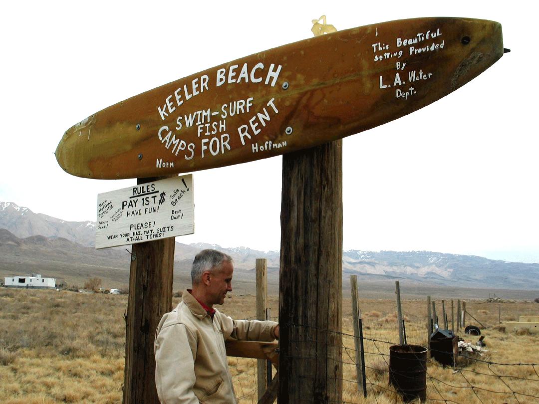 Perry at Keeler Beach