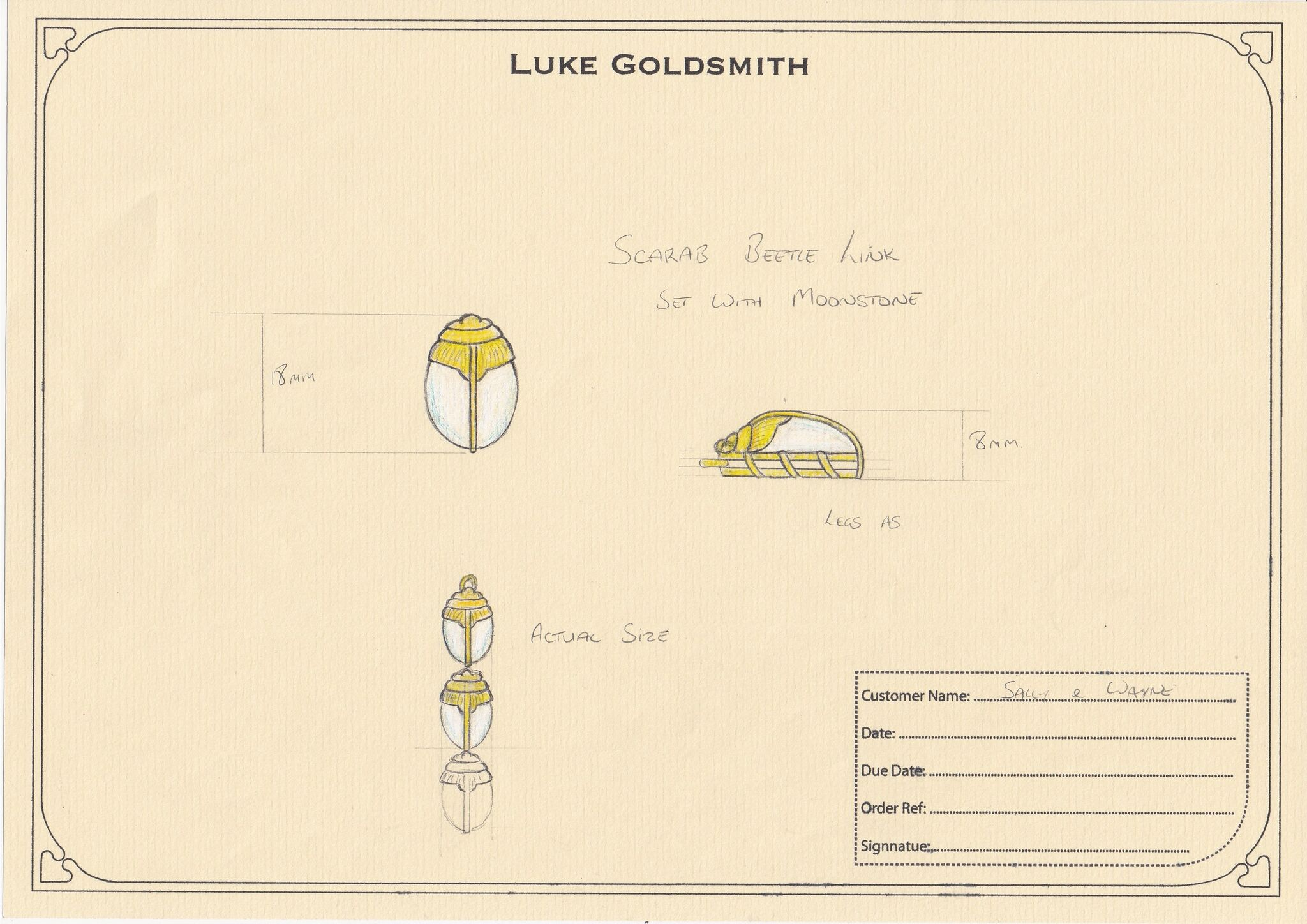 Luke Goldsmith Sketchbook