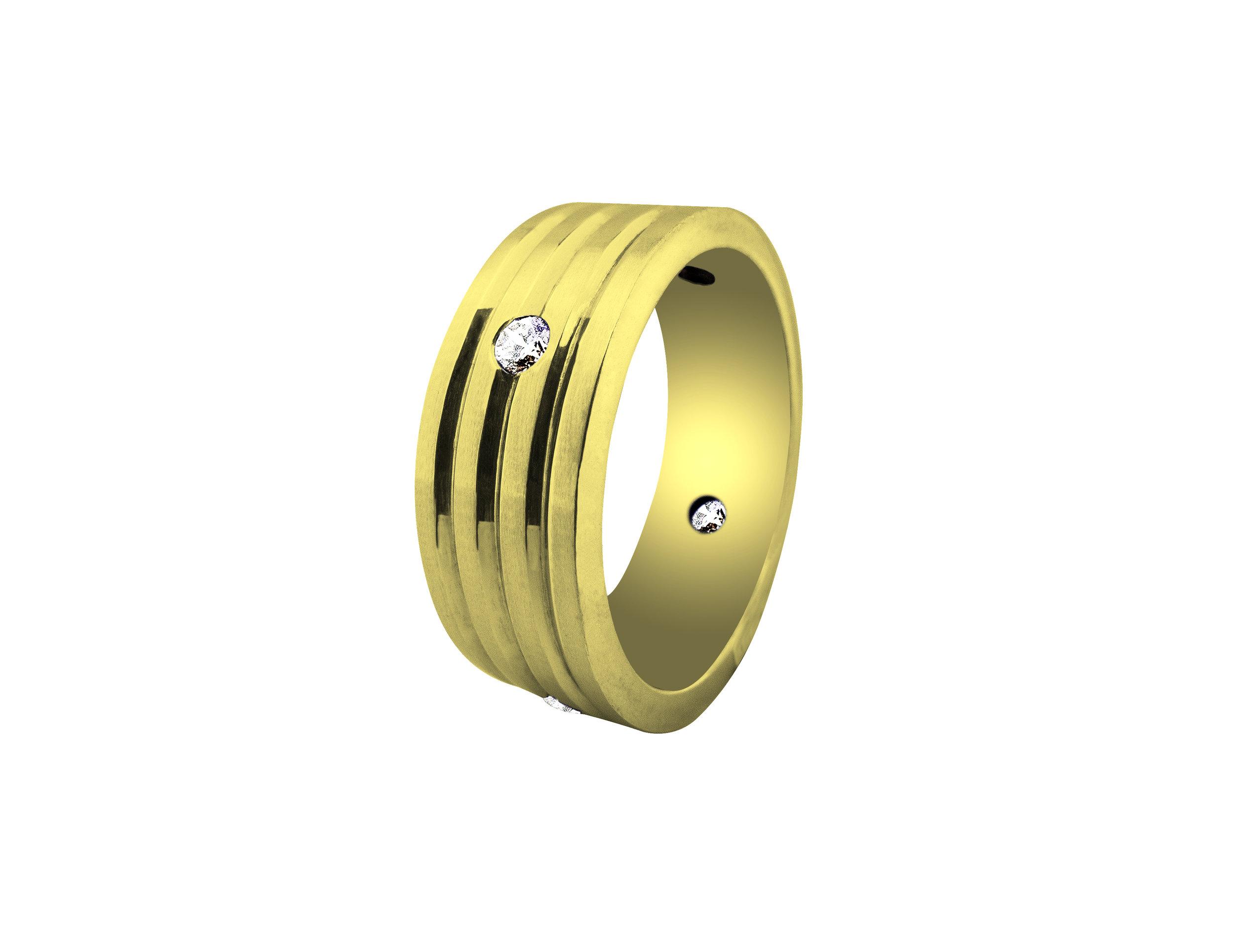 Luke Goldsmith Wedding Ring