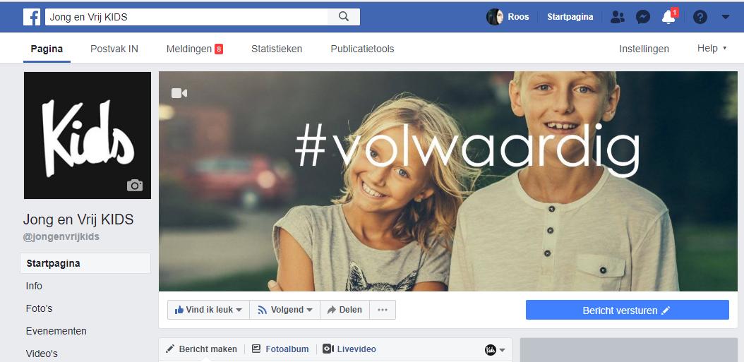 Check onze Facebookpagina's! - > De Kidsteam groep op Facebook voor medewerkers only. (KLIK)> De Jong en Vrij Kids pagina voor iedereen die geinteresseerd is. (KLIK)