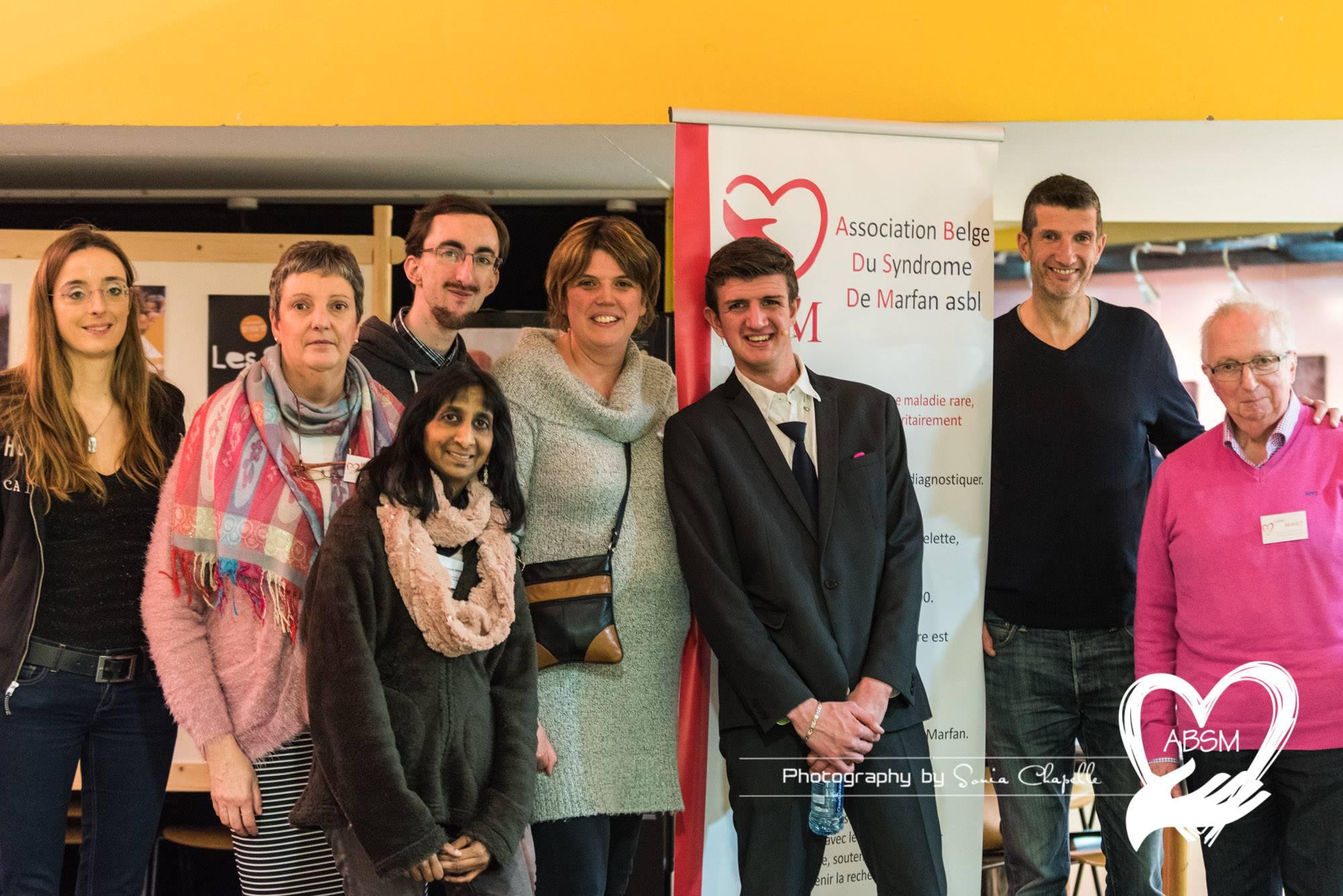 De Belgische Associatie van het syndroom van Marfan organiseerde op 25 februari een lachgala in Seraing. (Foto door Sonia Chapelle)