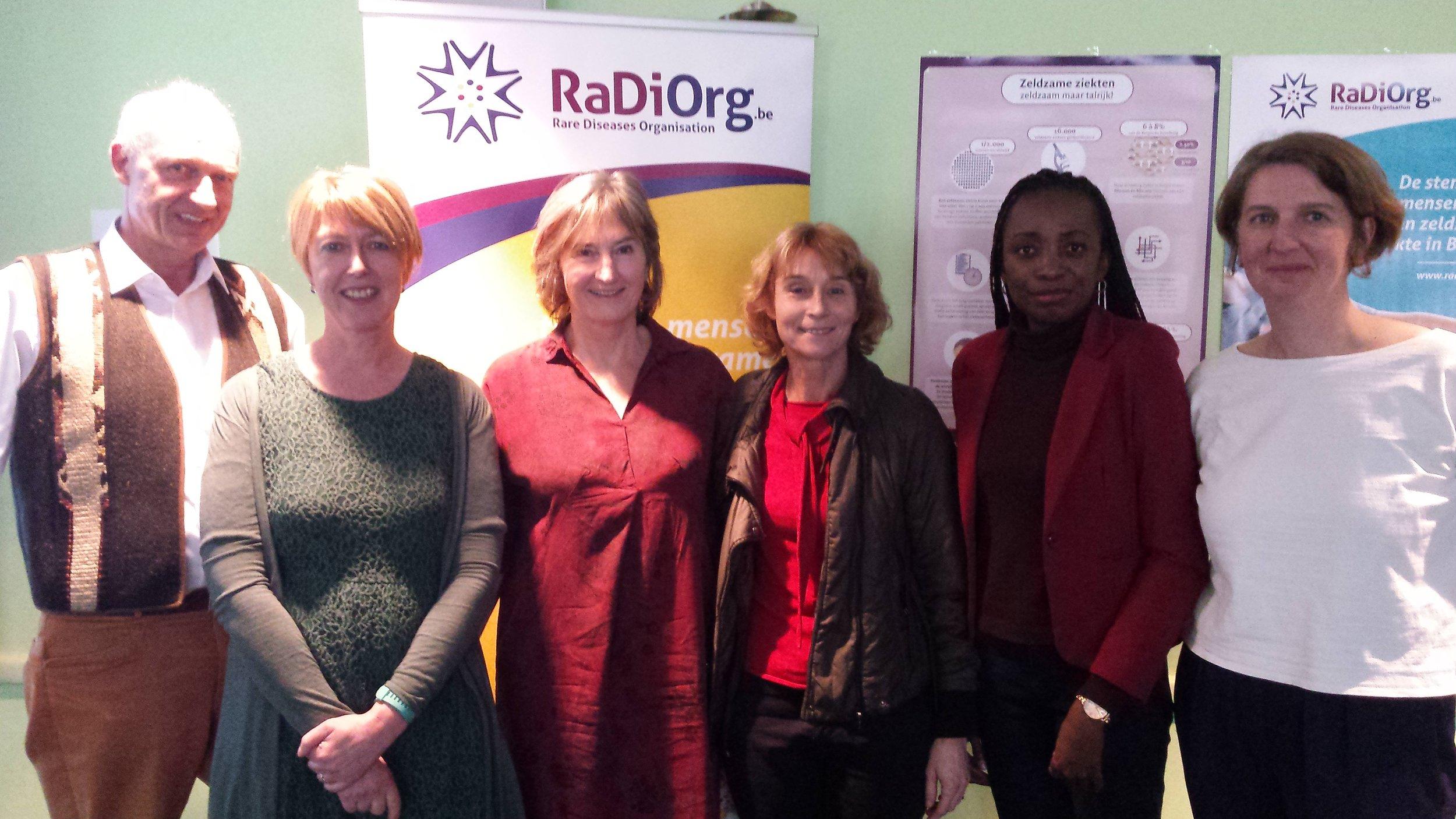 Een enthousiast nieuw team voor RaDiOrg!