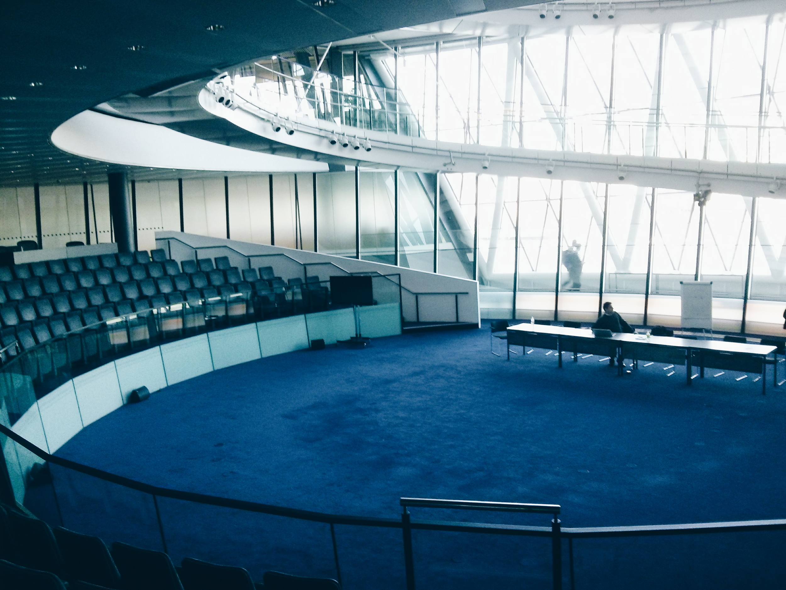 The Council Chamber at London City Hall