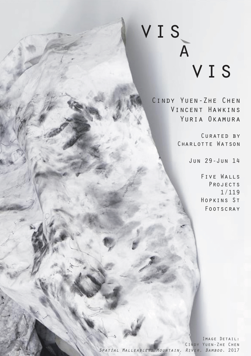 Vis a Vis - is an exhibition of abstract drawings curated by Charlotte Watson.Come see it at Five Walls Projects in Footscray Melbourne!JUNE 29 - JULY 14