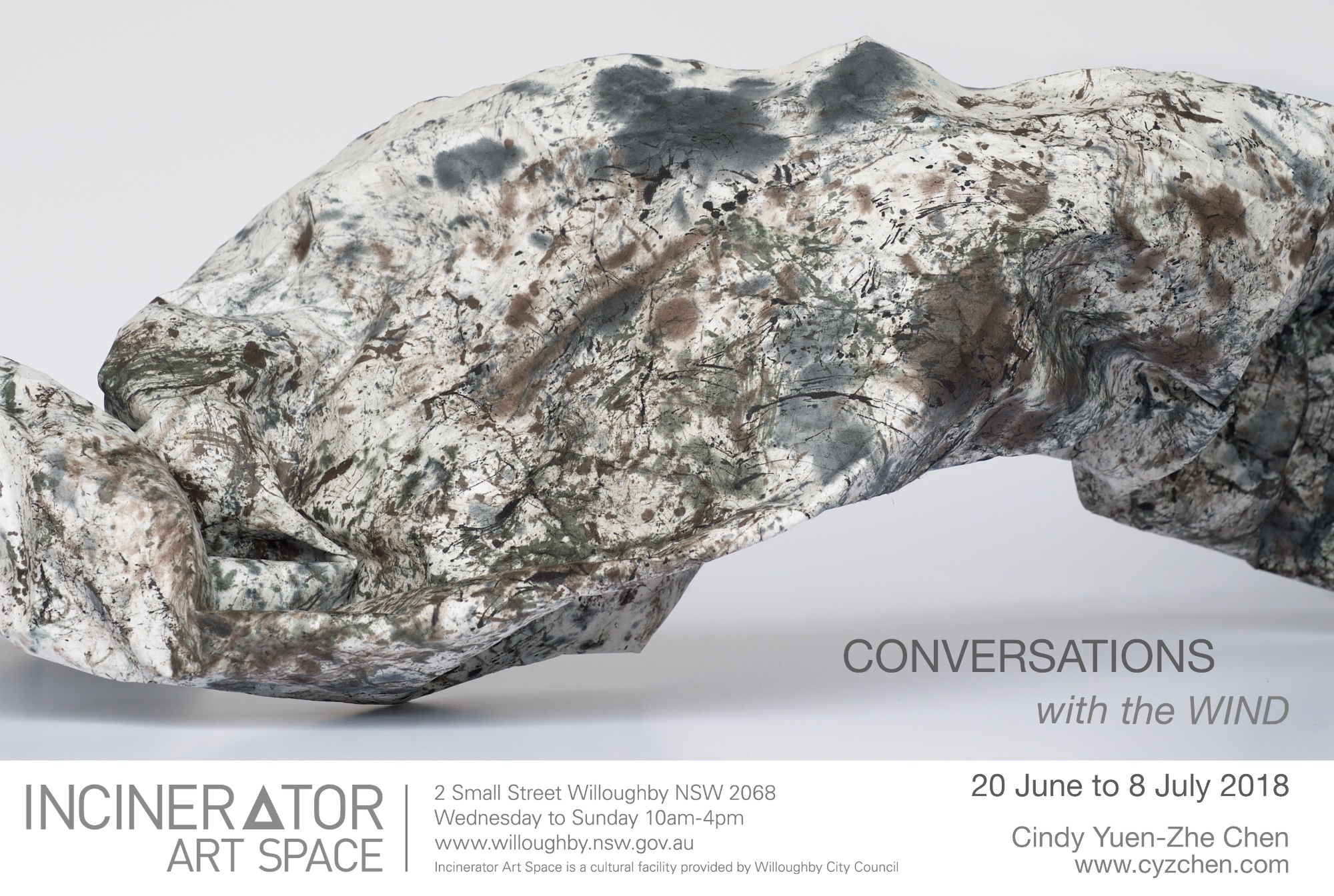 Conversations with the Wind - Cindy Yuen-Zhe Chen's exhibition of experimental drawings, video and sound installations.JUNE 20 to JULY 8.Opening Event: Saturday 23rd June 2-5pmDrawing Feedback performance at 3:30pm.