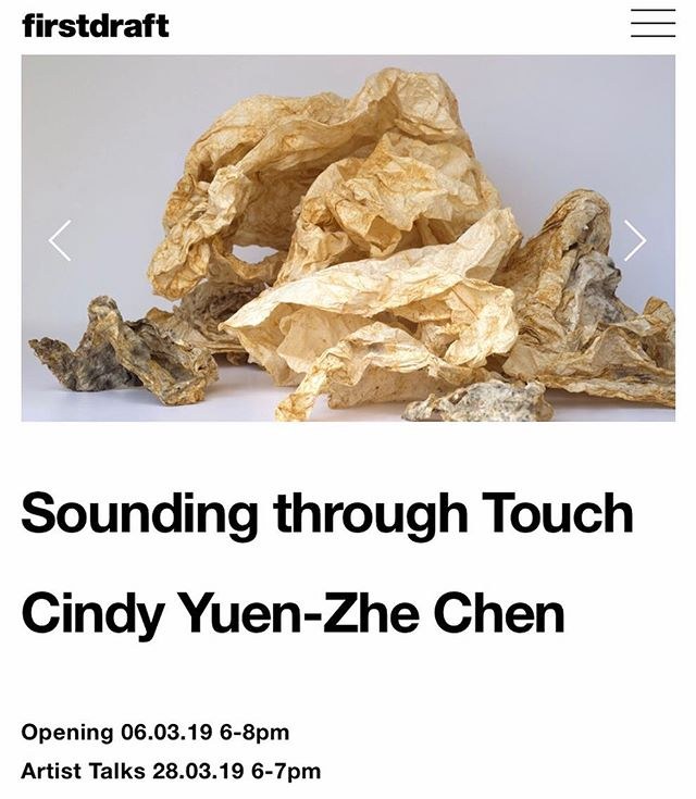 ⚡️Hello! I have some experimental drawings, videos and a sound installation on at Firstdraft from March 6-29. More info on their website: https://firstdraft.org.au/2019-program/2019/03/06cindy-yuen-zhe-chen. Artists Stella Chen and Linda Sok will also be exhibiting at the same time. Come to the opening on March 6! @lendasock @stellachenart @firstdraft_ #experimentaldrawing #contemporarydrawing #sounddrawing #listening #contemporarylandscape #instagrampleaseallowhyperlinks