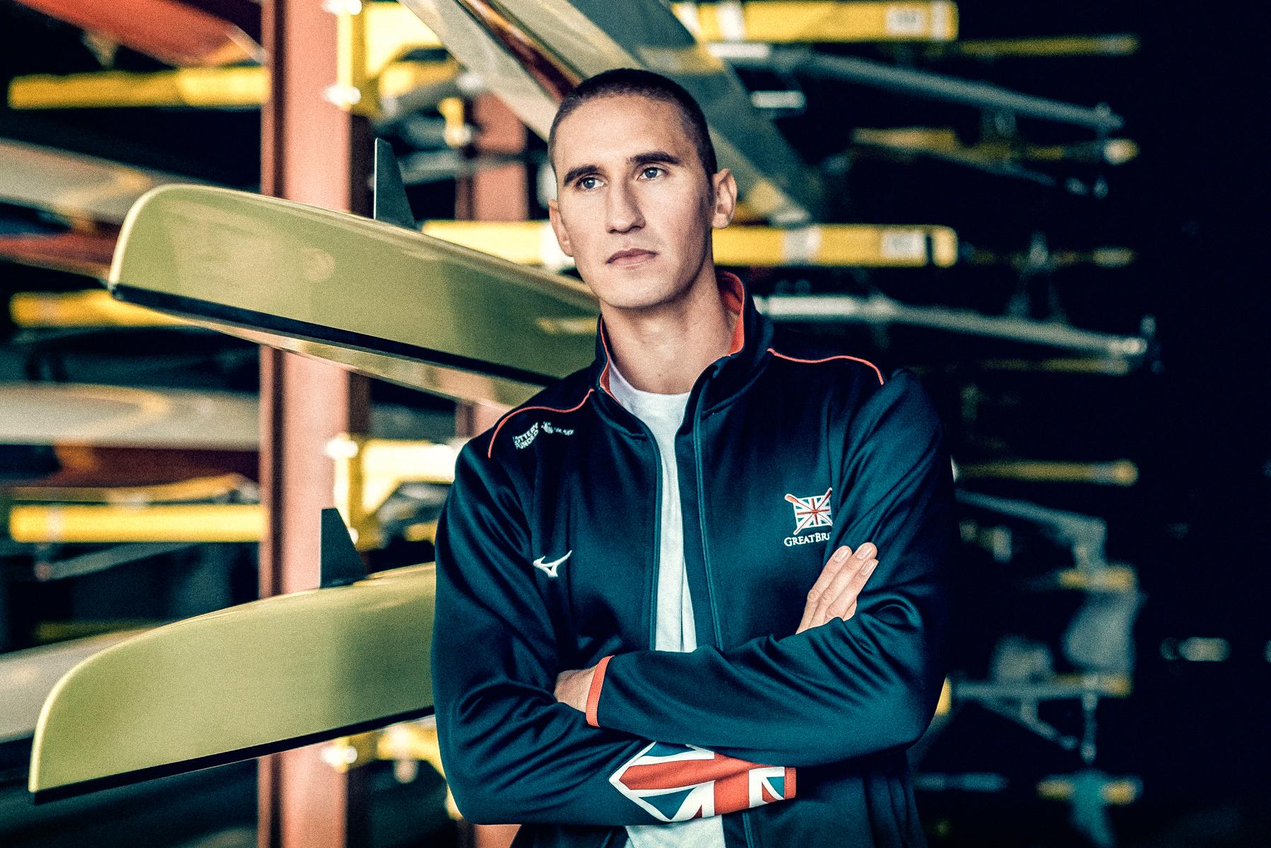 GQ & Wilkinson Sword - GB rower Lance Tredall