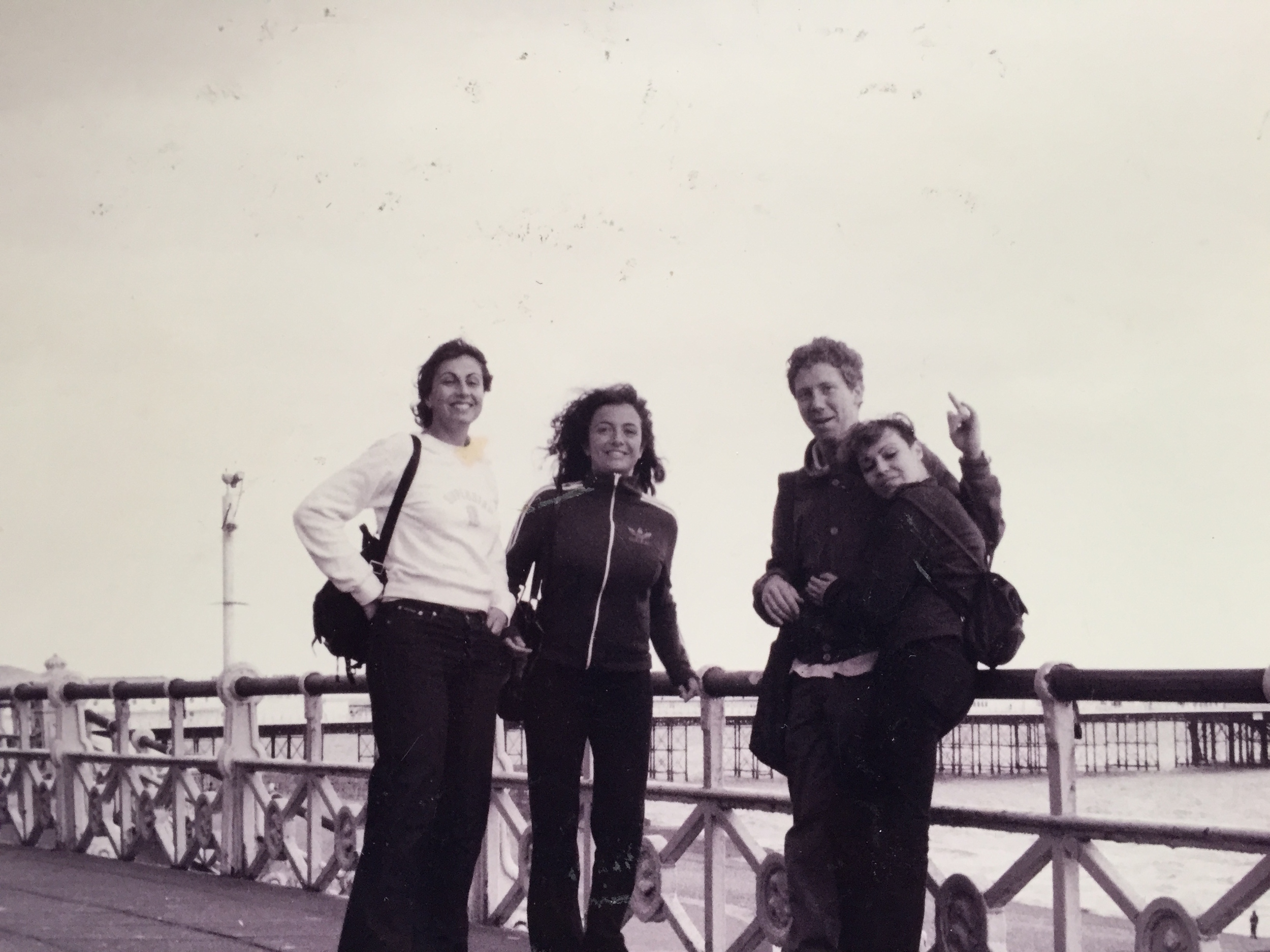 Summer breeze at Brighton's Pier in 2001