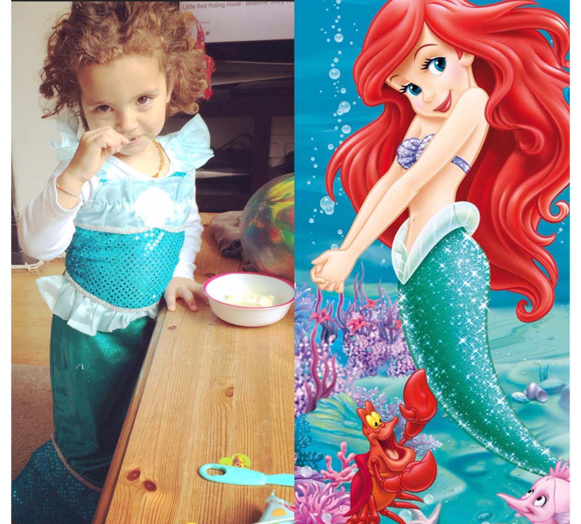 Two little mermaids