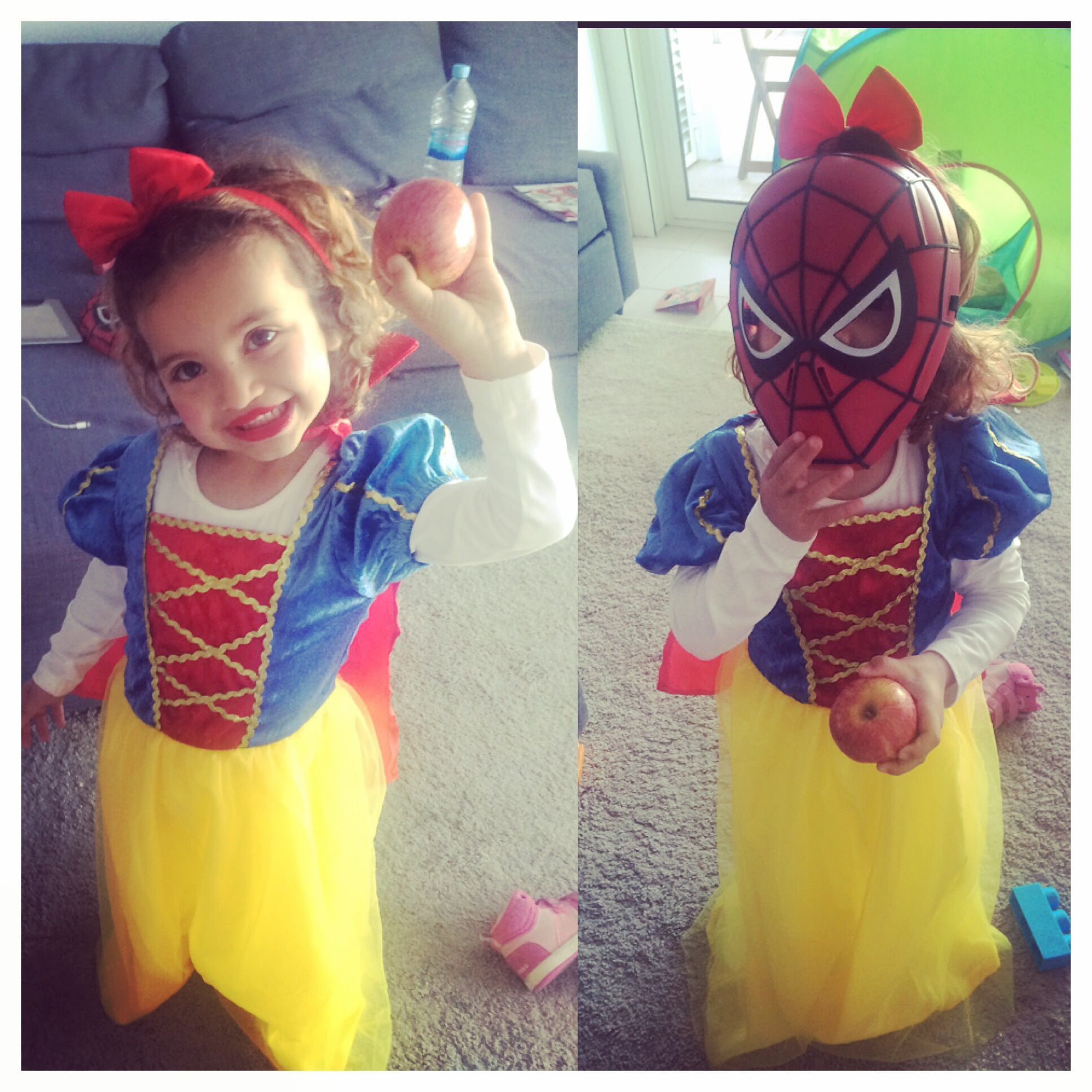 Mia/Snow White/Spiderman last Carnival