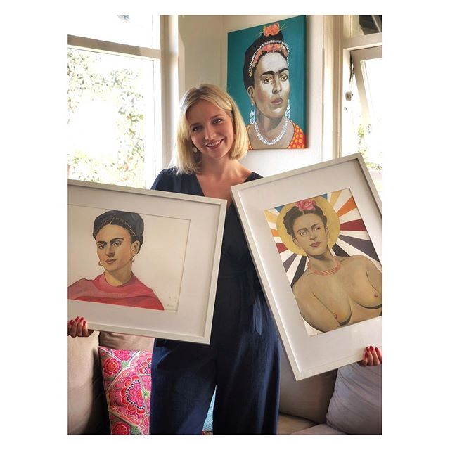 Happy New Year everyone! I'm standing here with my 3 favourite pieces of 2017 and each one of them reminds me how lucky I am to have so many strong female influences in my life. A massive thank you to everyone who encouraged me to continue creating with Honey and Human. There were many times I felt like an imposter in the art world, but I'm excited to say that I'm entering 2018 with more purpose, more ambition and more hunger to create. I hope you are too! #AFridaStateOfMind
