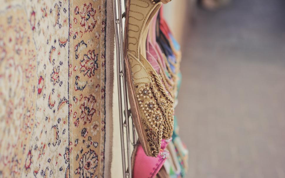 Shoes at theGold Souk - Dubai
