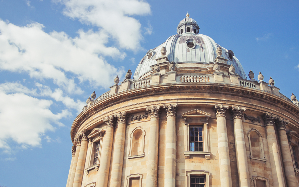 Oxford University Library - England