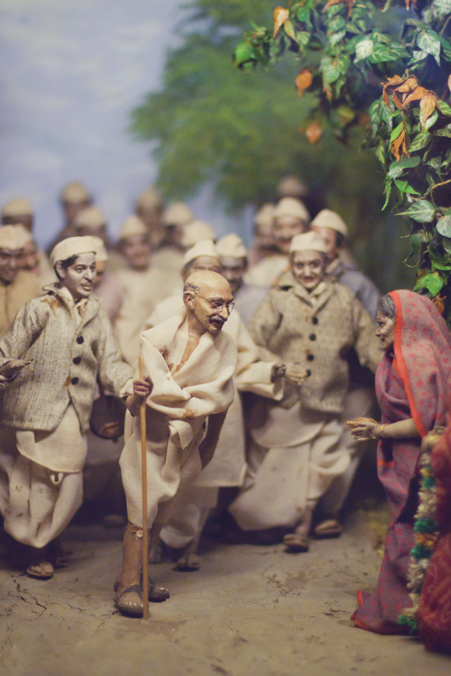 Gandhi MiniatureatMuseum- Mumbai, India