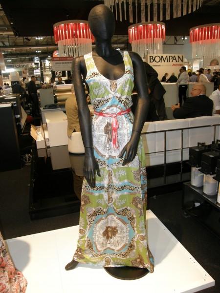 Digitally Printed Little 'Bluish' Dress