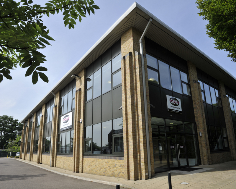 GEW Head Office in Crawley, close to London's Gatwick Airport