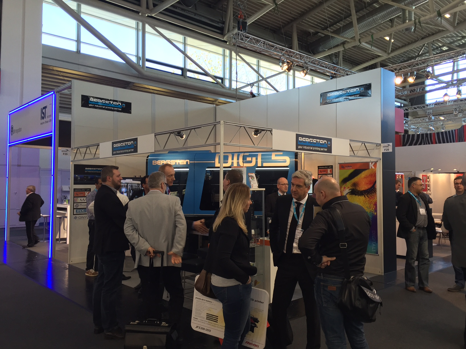 Bergstein Exhibiting at InPrint 2015