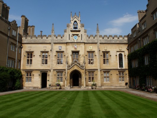 Sidney Sussex College, Cambridge, the venue for Development Group