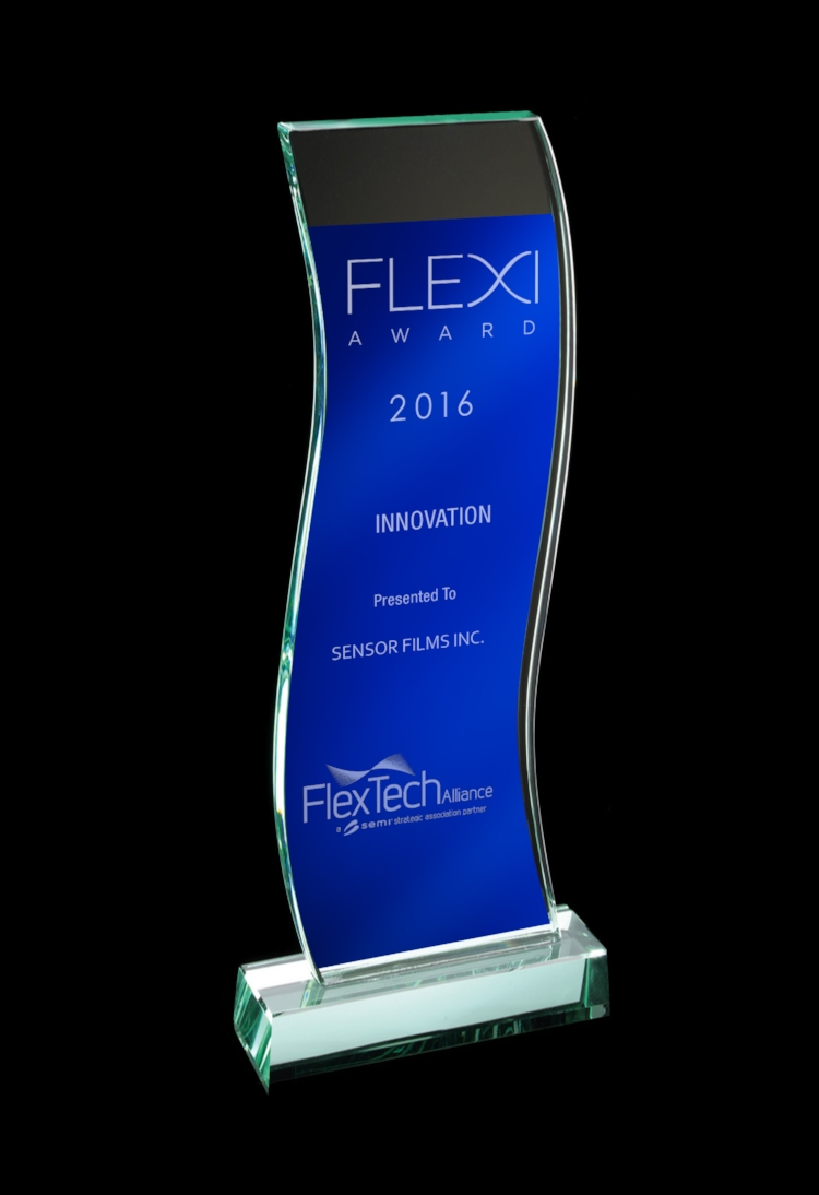 Sensor Films Technology was recognised in the prestigious Flexi awards