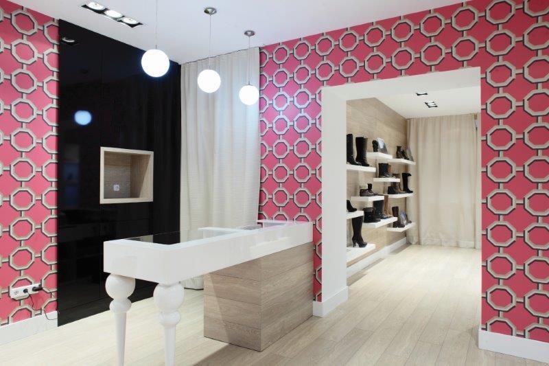 Interior digital wallcoverings