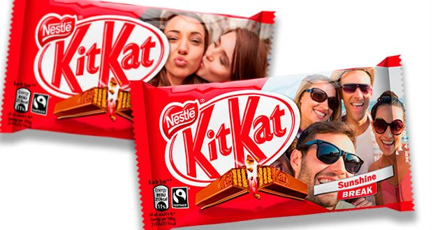 Kit Kat's Innovative Campaign is the latest in personalised digital print packaging