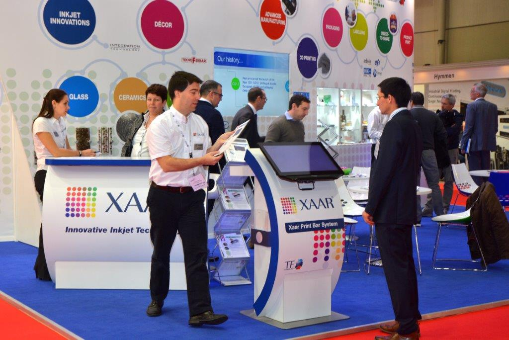 Xaar, of the leading inkjet brands participating at InPrint 2018 in Milan