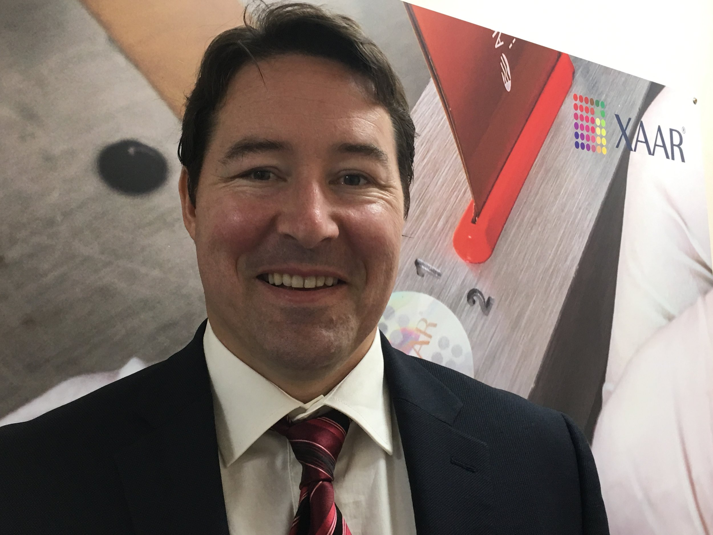Adam Strevens, Strategic Marketing Manager, Xaar