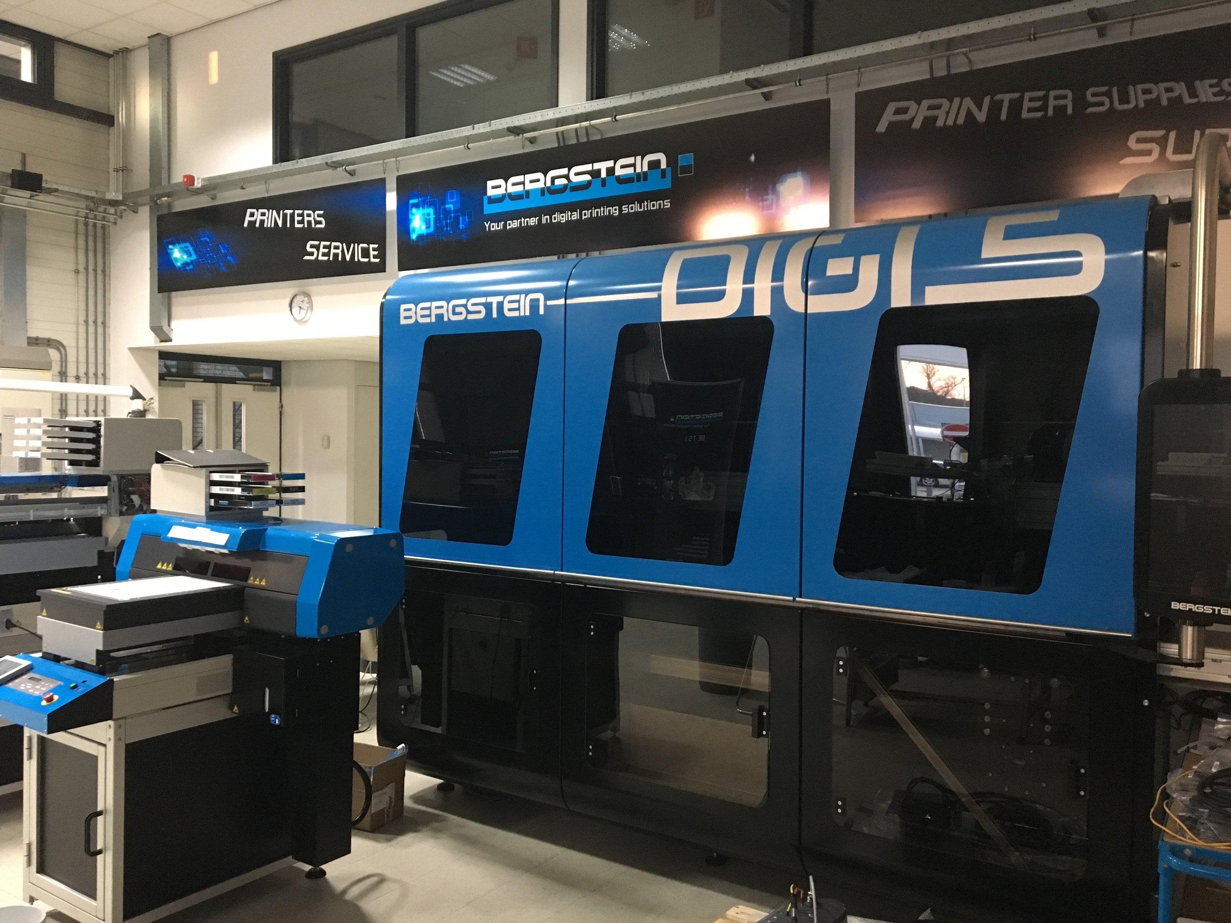 Berstein Digi 5 Single pass Inkjet machine