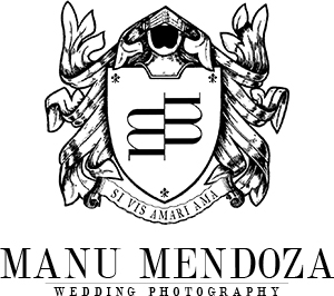 Logo of Manu Mendoza Wedding Photography, wedding photographer based in Basingstoke, Hampshire