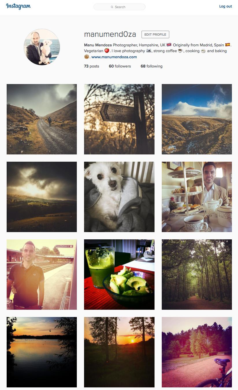 Manumendoza's Instagram Profile