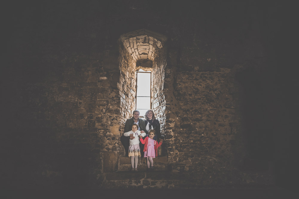 Family Photos at Portchester Castle