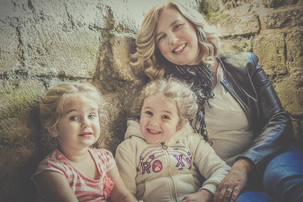 Portchester Castle Family Pics