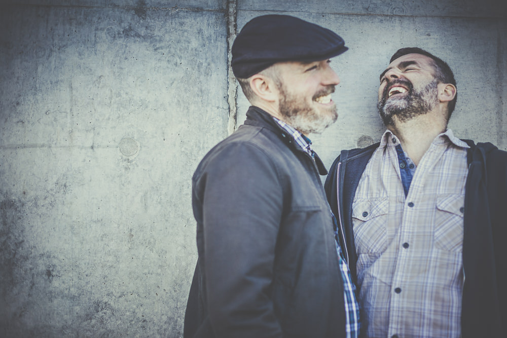 Gay Couple Engagement Session