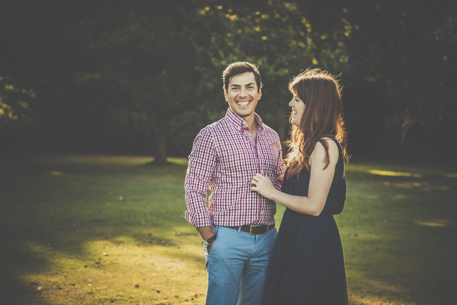 Engagement photos in Hampshire