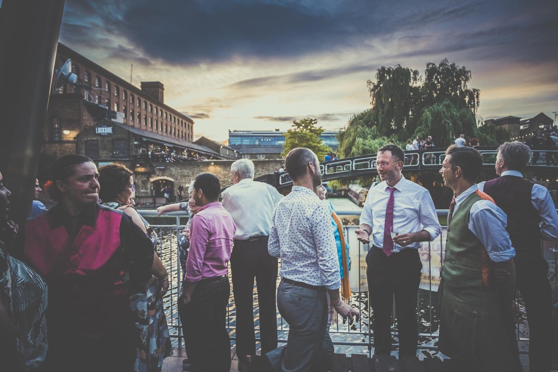 Wedding in Camden Town