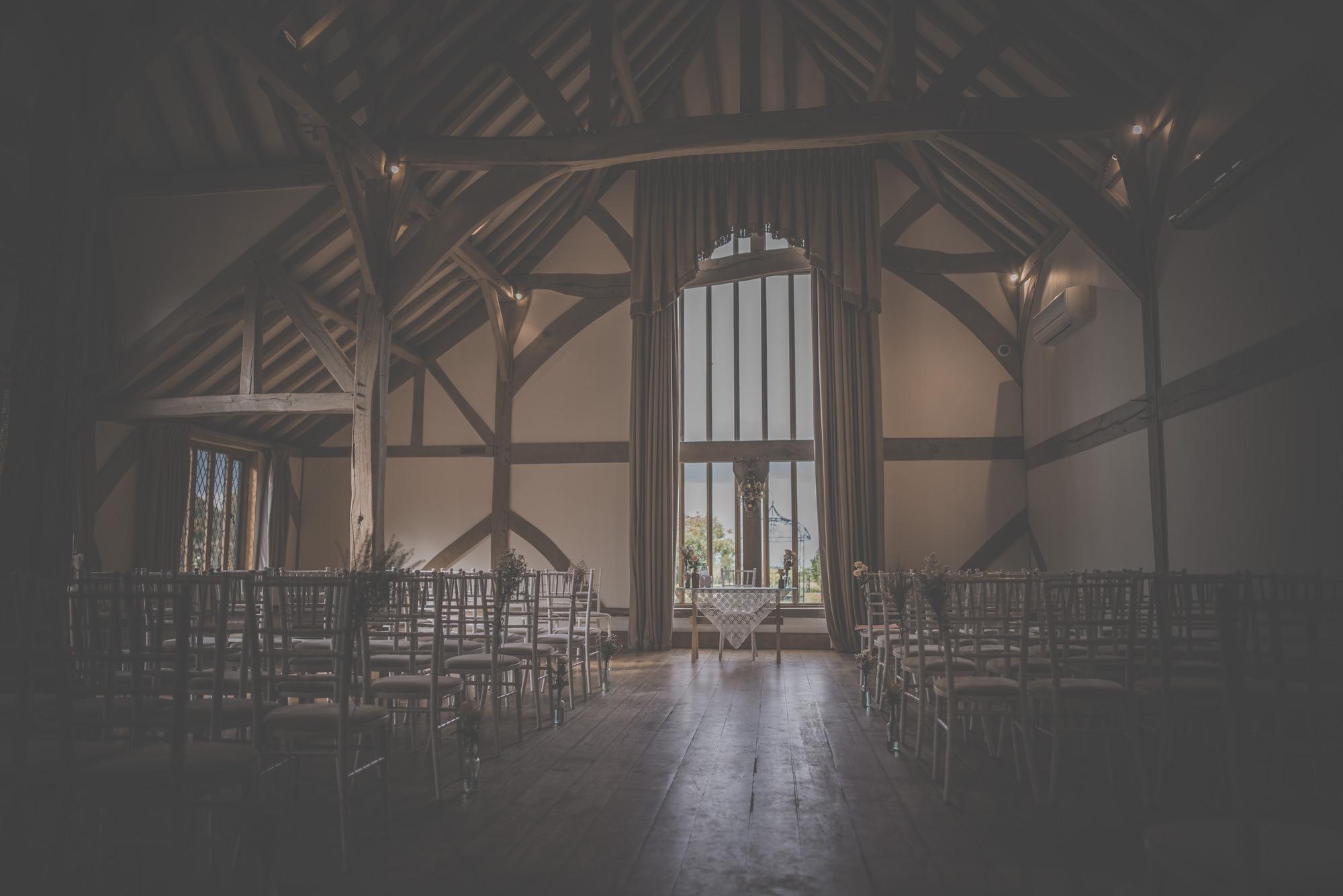 Barn Wedding Cain Manor Hampshire