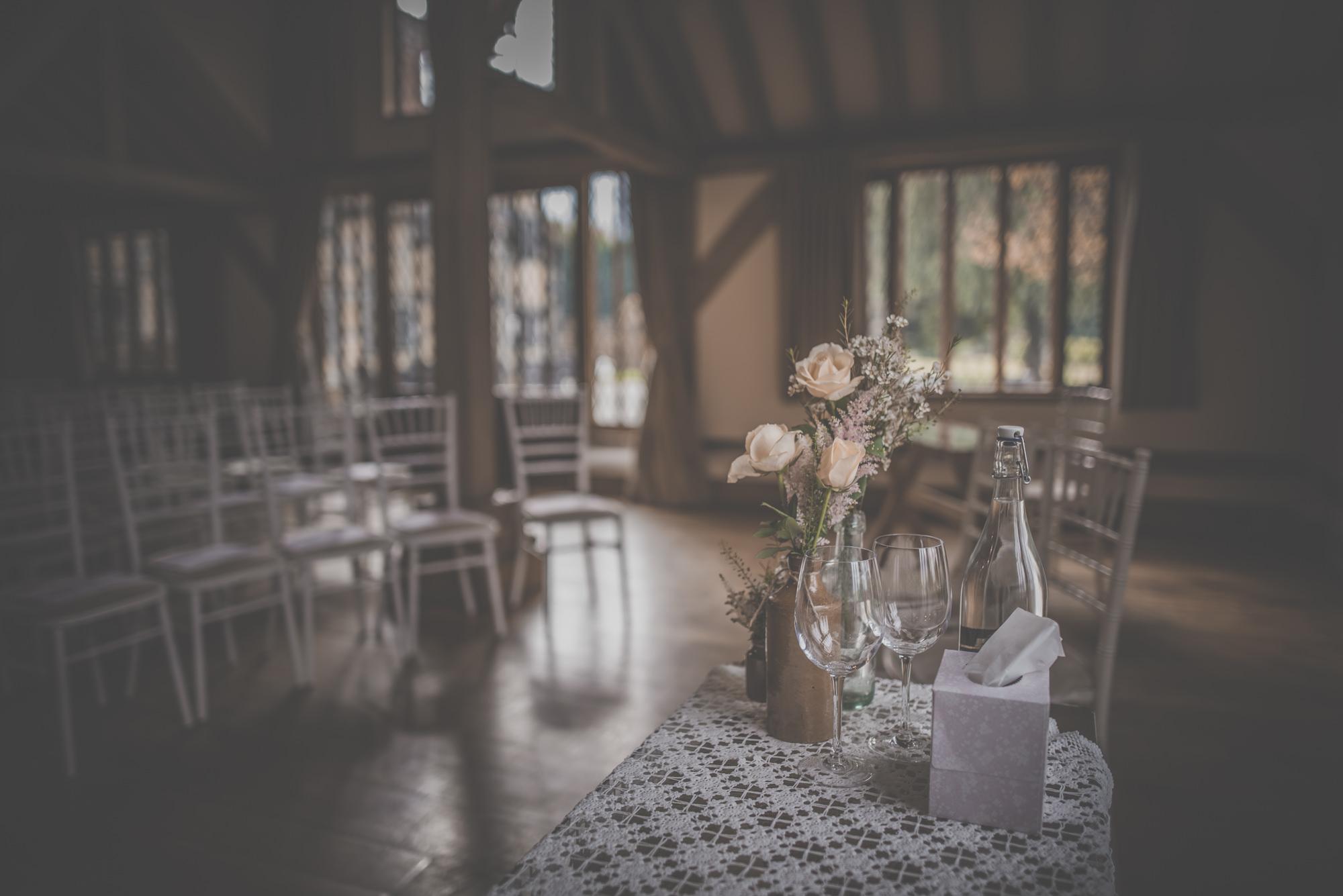 Wedding Ceremony at Cain Manor
