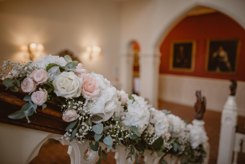 Wedding Decoration in The Elvetham Hotel