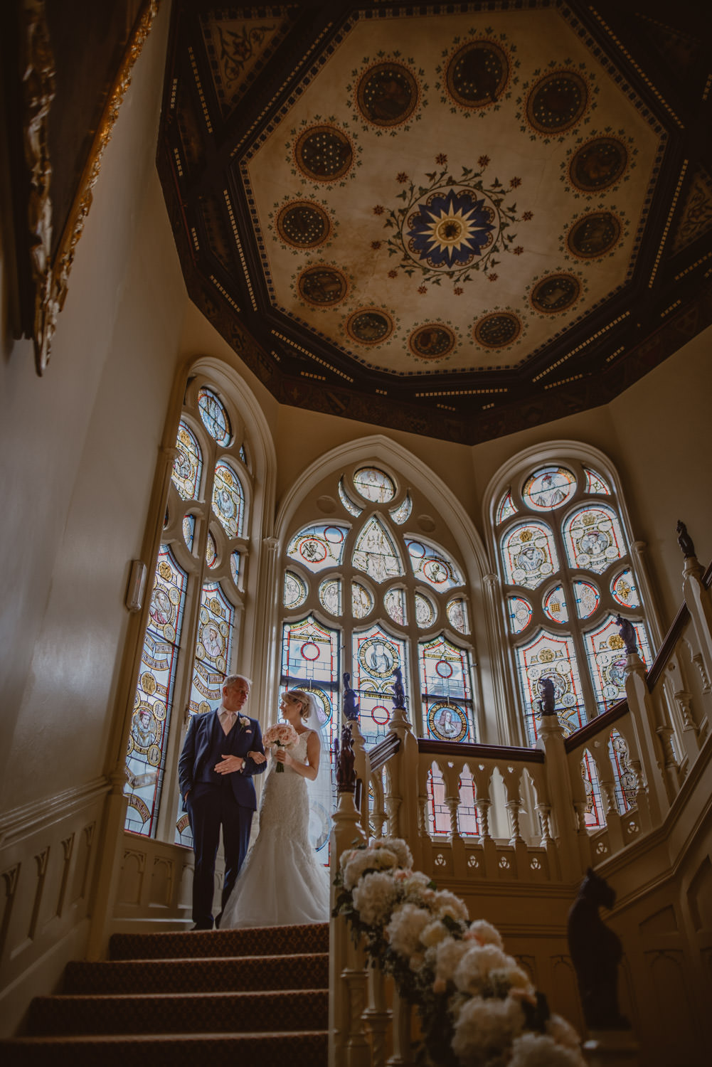 Wedding Inspiration in The Elvetham Hotel in Hampshire
