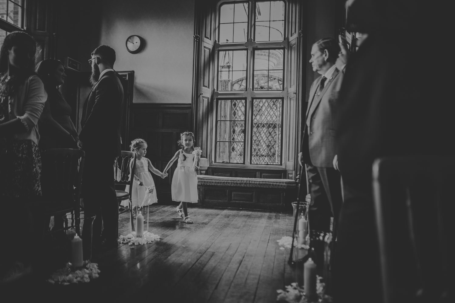 Flower Girls at The Elvetham Hotel in Hampshire