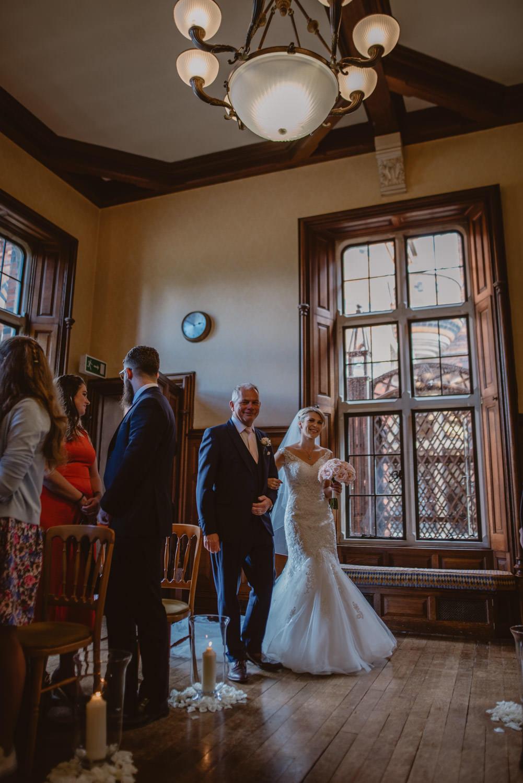 Wedding Ceremony at The Elvetham Hotel in Hampshire