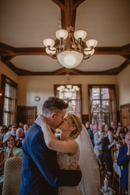 The Oak Room at The Elvetham Hotel Wedding