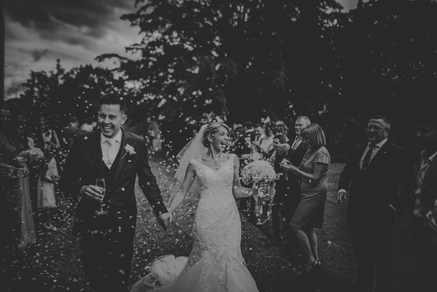Confetti Pictures at The Elvetham Hotel
